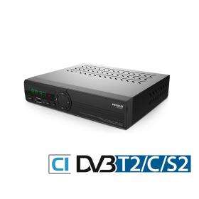Amiko HD 8265+ Combo TV-boks med PVR-funktion