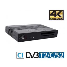 qviart Lunix 4k TV-boks med PVR-funktion
