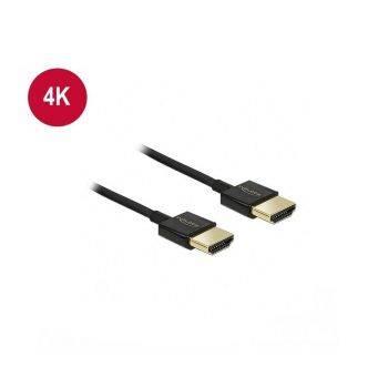 DeLock Premium slim HDMI kabel 4K(UHD) 1 m