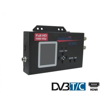 Enmoder EMB320 HDMI til DVB-T/C mpeg-4 modulator